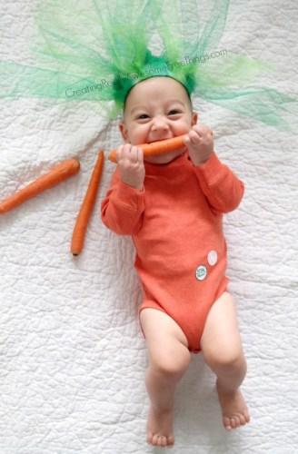baby carrot halloween