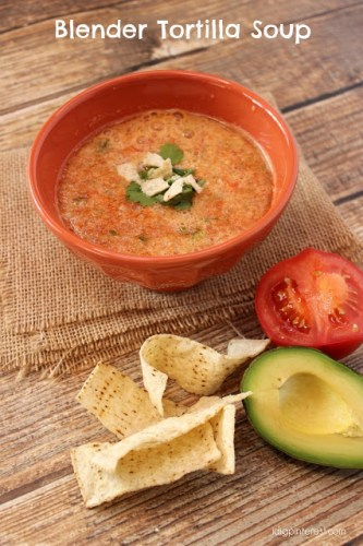 blender tortilla soup
