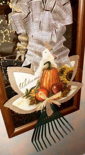 diy autumn leaf craft