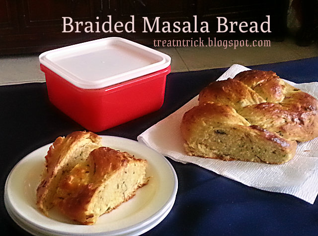 braided masala bread recipe