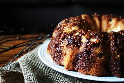 brown sugar apple cake