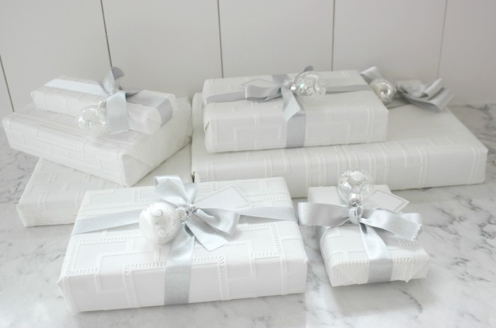 use wallpaper as wrapping paper