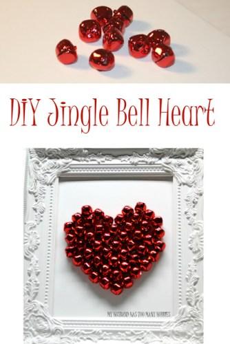 diy jingle bell valentine