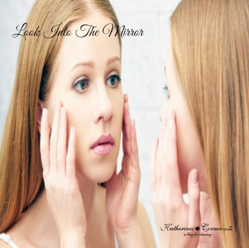 look into the mirror self-acceptance -be well gifts blog