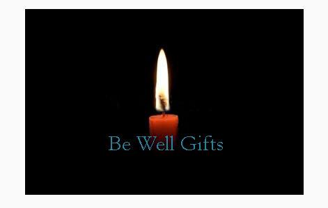 single candle BW