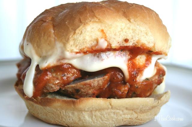 meatball parmesan sammies