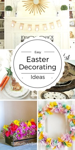 easy easter decortaing