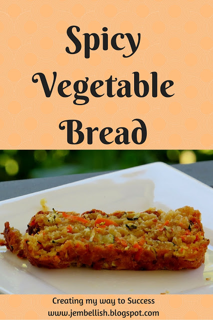 add some spice to your next meal wuith spicy vegetable bread