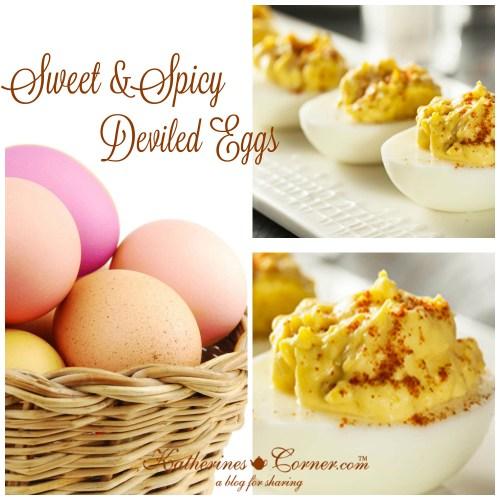 sweet and spicy deviled eggs katherines corner