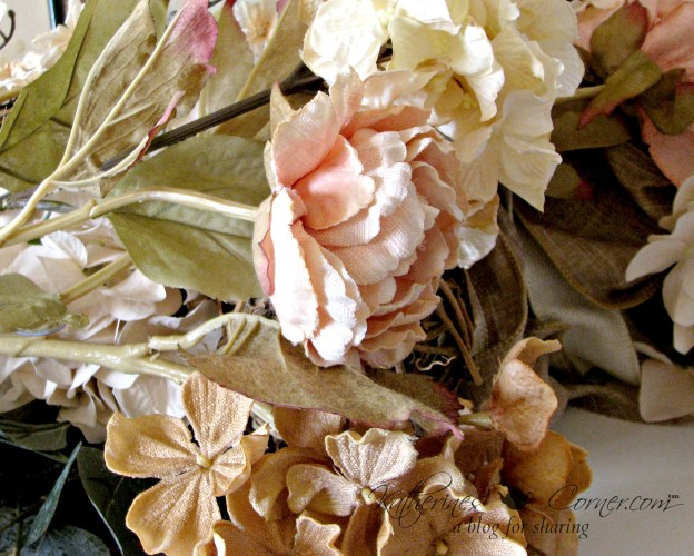 silk flowers for the mantle