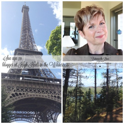 between the Lines blog series featuring bloggers age 50 to 80