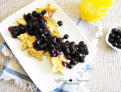 blueberry french toast breakfast recipe