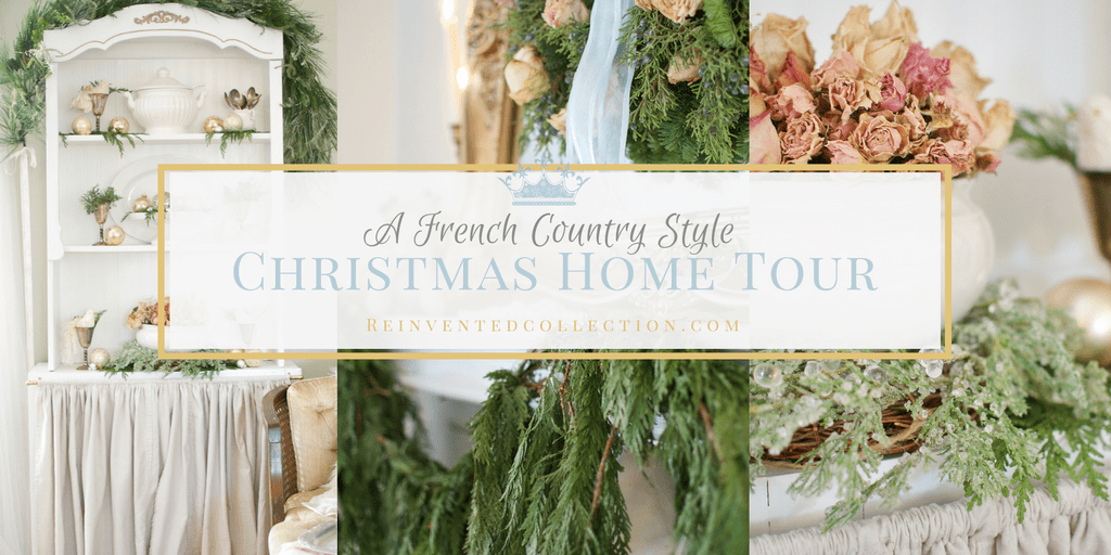 French Country christmas home tour