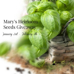 marys heirloom seeds
