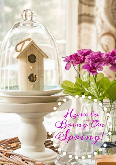spring with farmhouse style