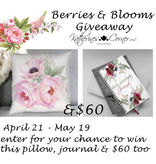 berries blooms giveaway