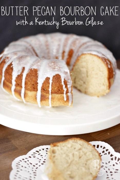 bourbon pecan bundt cake