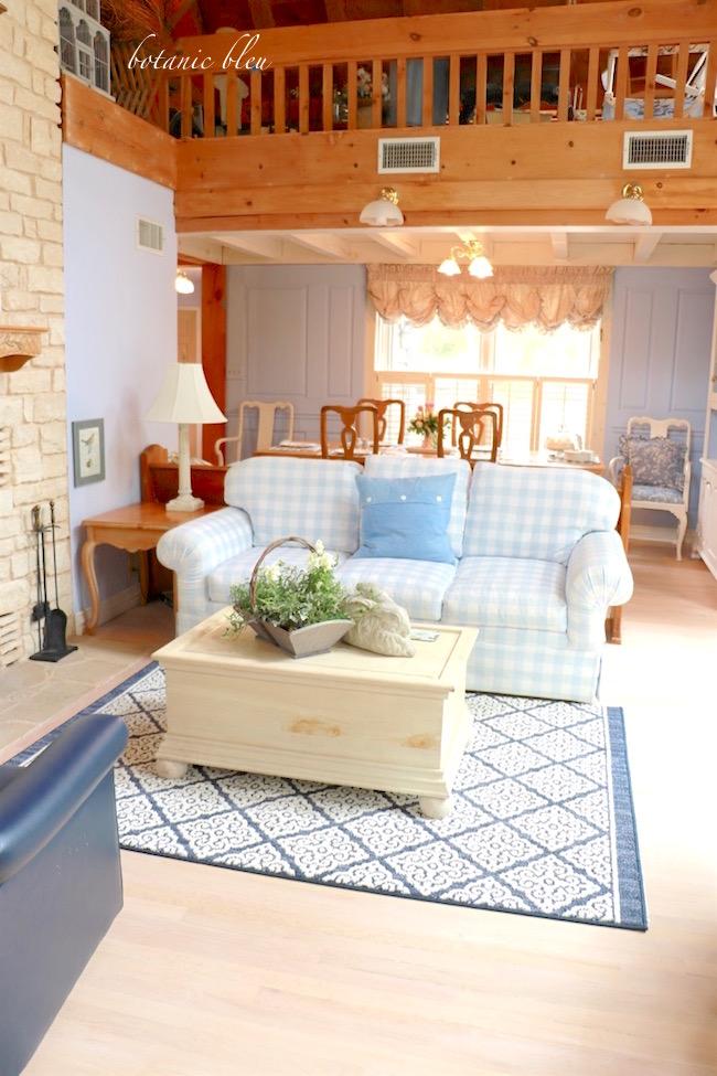 living room white washed oak floor