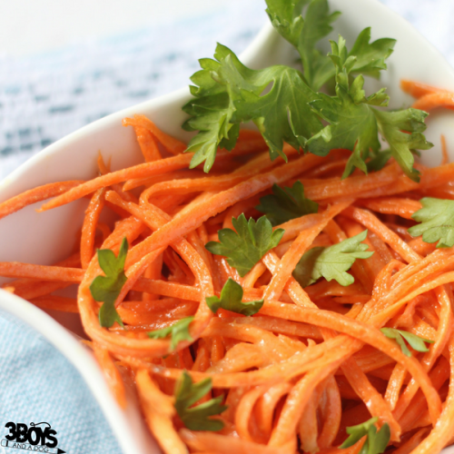 simple healthy carrot salad
