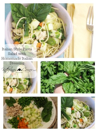 Italian Style Pasta Salad Homemade Italian Dressing