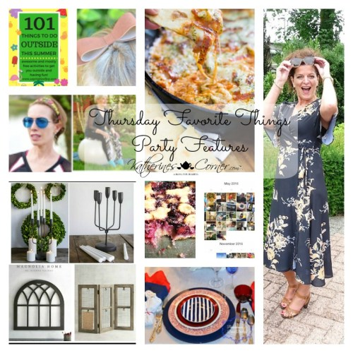 Thank You Thursday Favorite Things blog party
