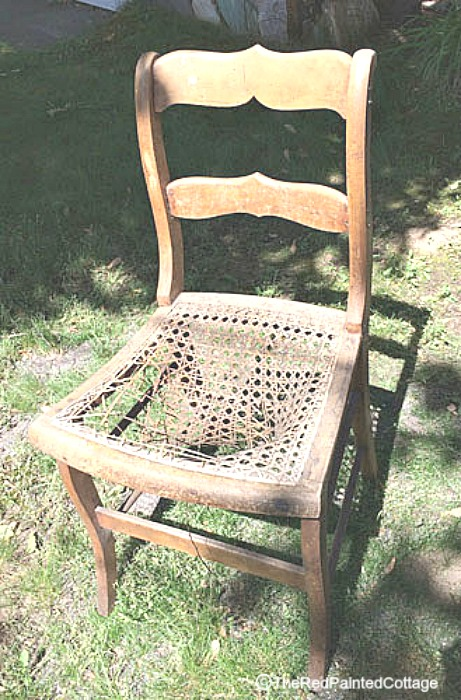 see what happened to this chair
