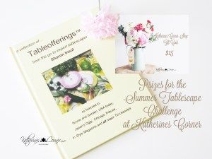 prizes for summer tablescape challenge