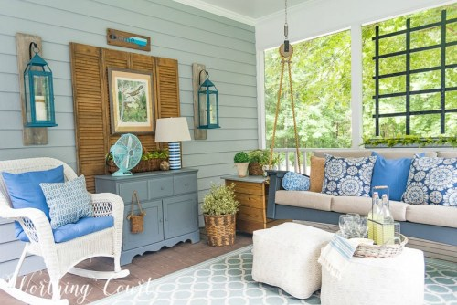 screen porch refresh