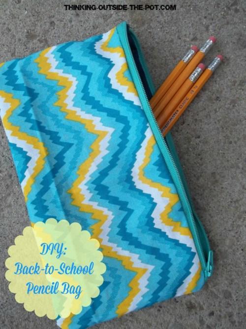 diy bak to school bag