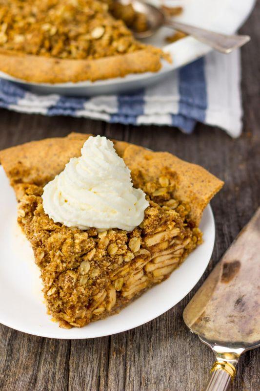deep dish apple pie