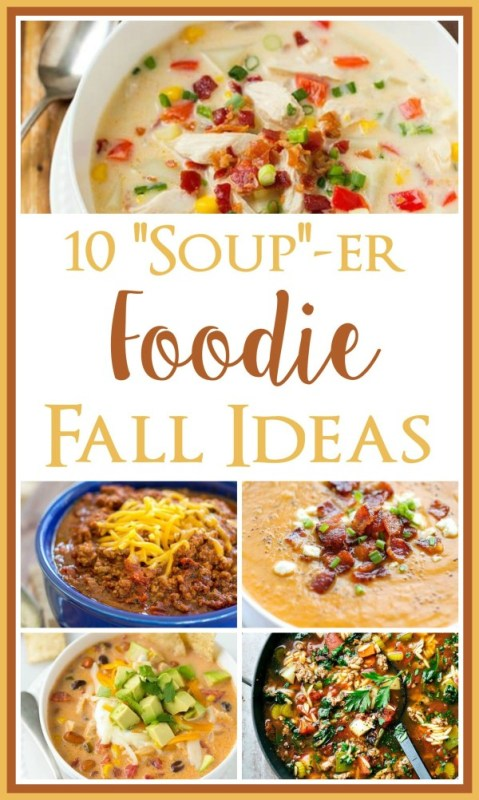 souper fall foods