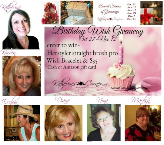 birthday wish giveaway hostesses