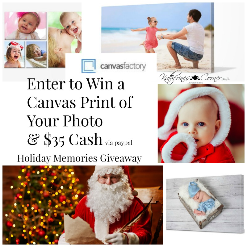 Holiday memories prizes