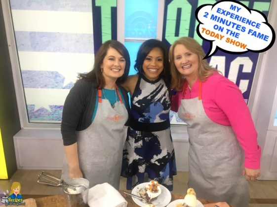 my experienc being on the today show