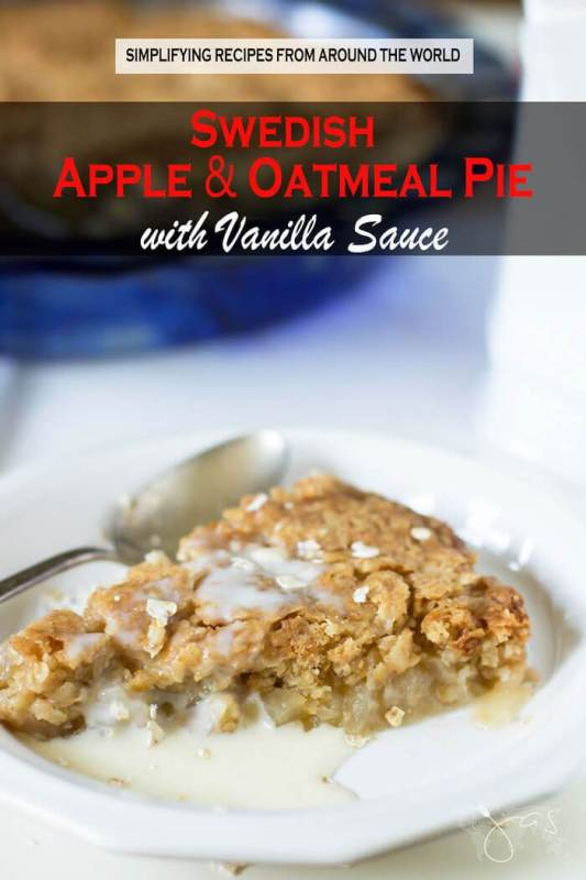 Swedish-Apple-and-Oatmeal-Pie-with-Vanilla-Sauce