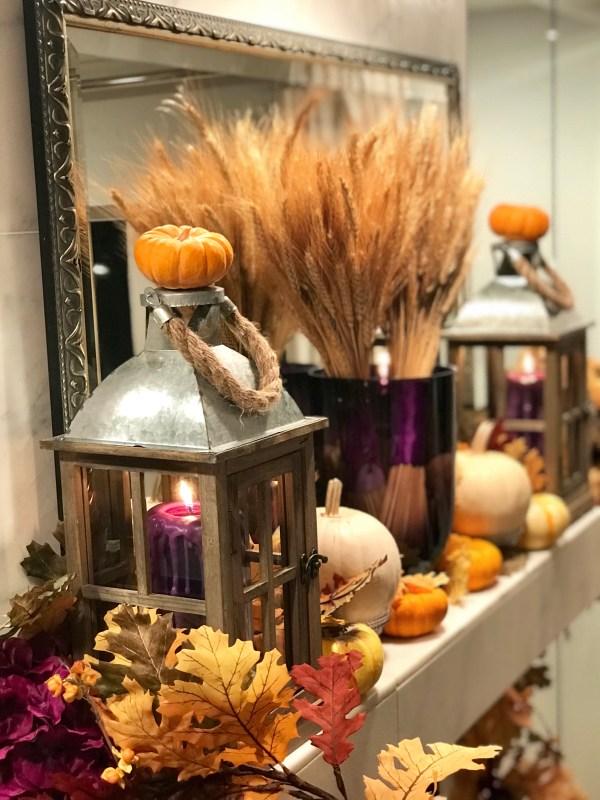 thanksgiving mantle