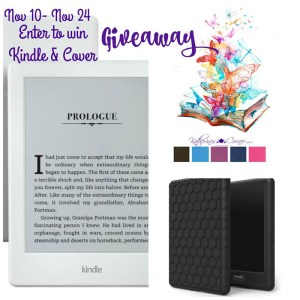 Kindle & Cover Giveaway