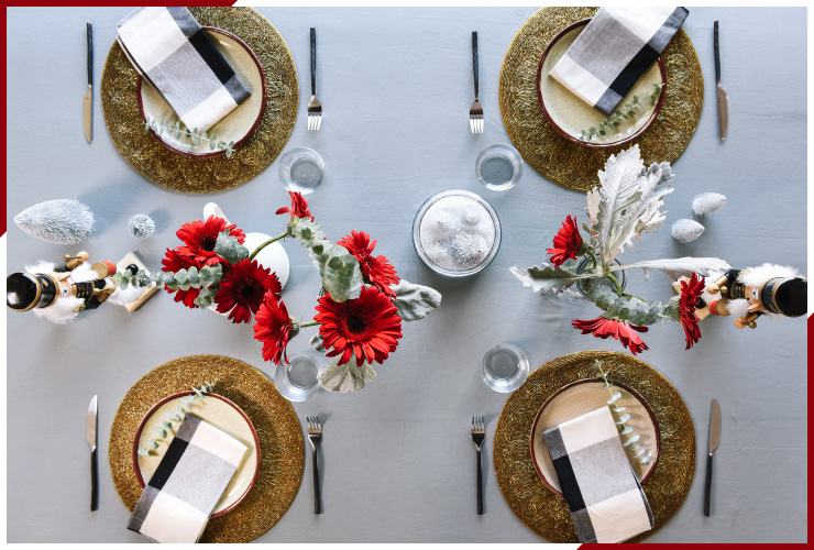 3 Holiday Tablescape Inspirations