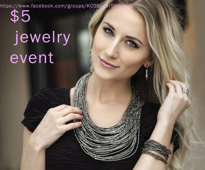 5 dollar jewelry event