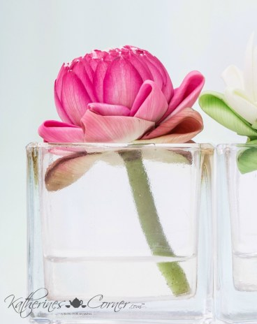 diy acrylic water lotus katherines corner