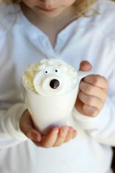 polar bear hot cocoa
