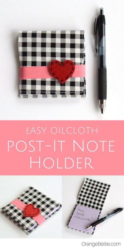 diy post it note holder