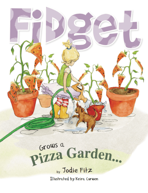 fidget grows a pizza garden