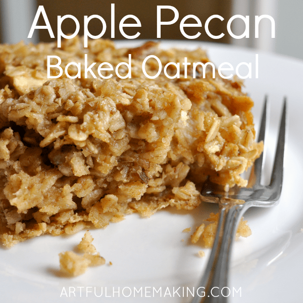apple pecan breakfast bars