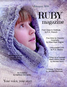 February issue ruby for women