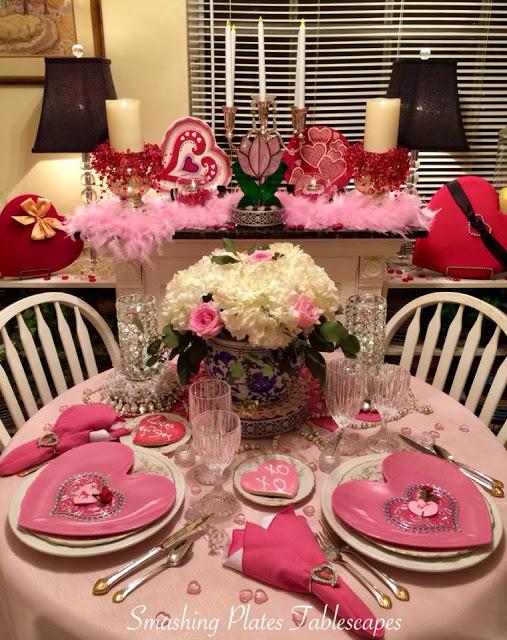 valentine tablkescape
