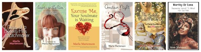 award winning marla martenson books