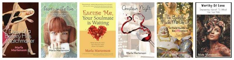 award winning marla martenson books