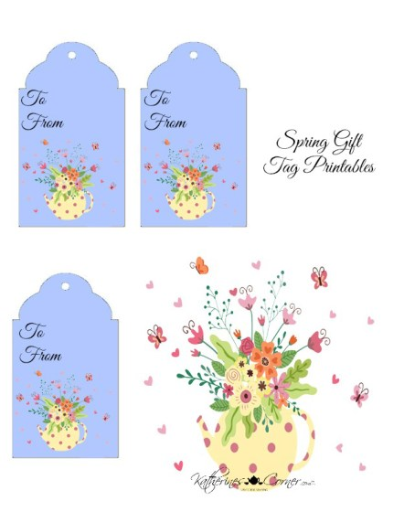 spring gift tag printables katherines corner