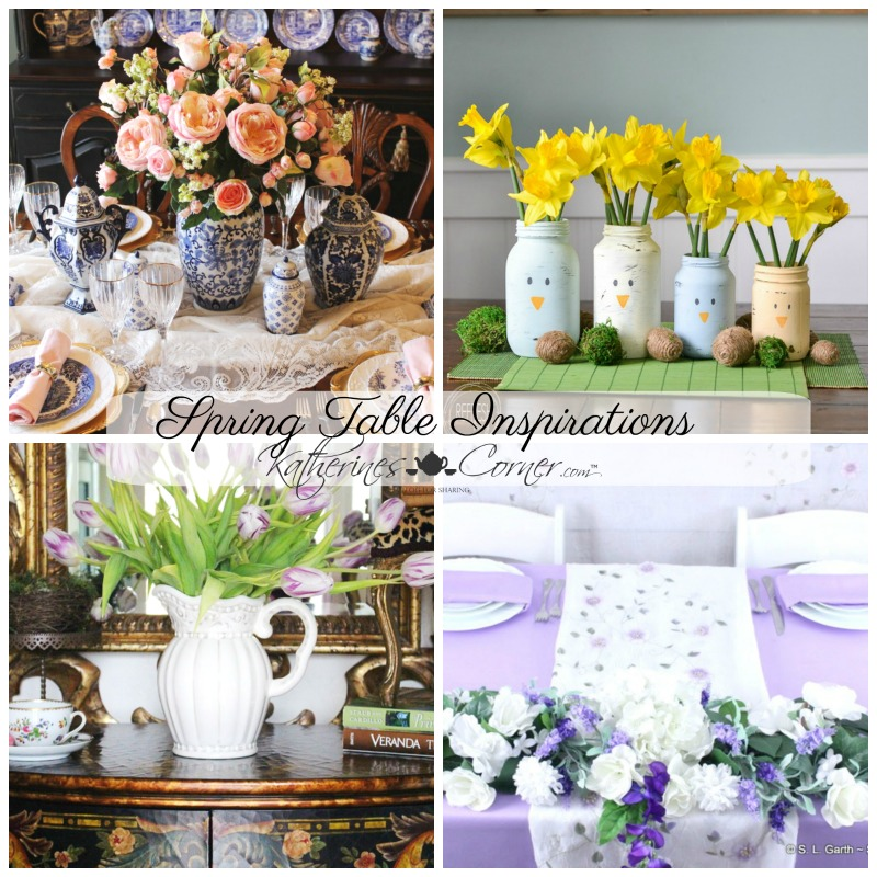 spring table monday inspirations